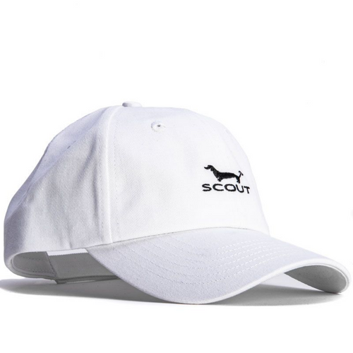 Scout Heads or Tails Hat - White & Black