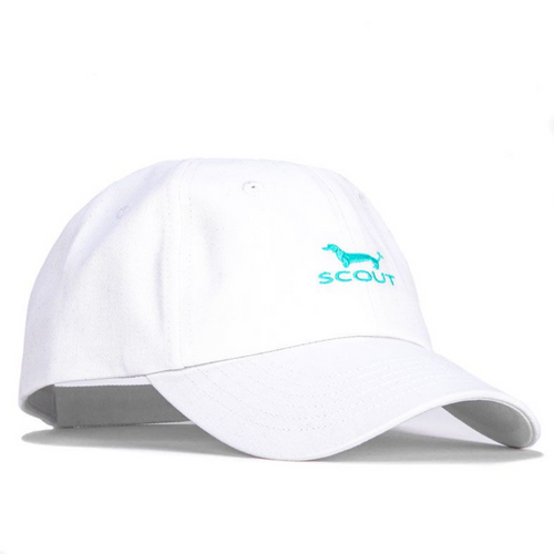 Scout Heads or Tails Hat - White & Seafoam