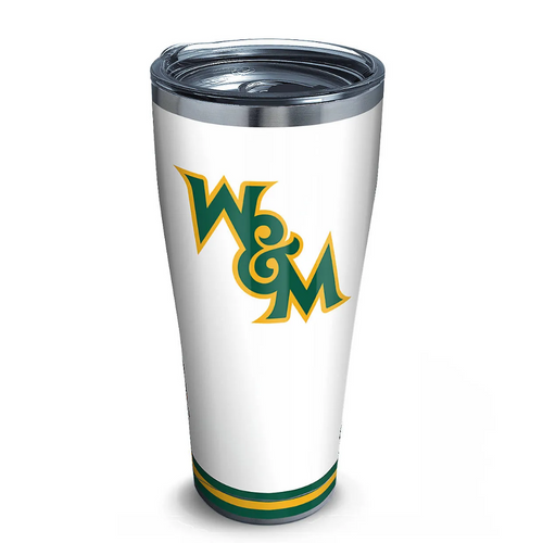Tervis Tumbler Stainless 30 oz - William & Mary Tribe Arctic
