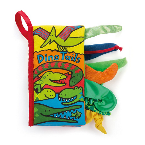 Dino Tails Fabric Activity Book
