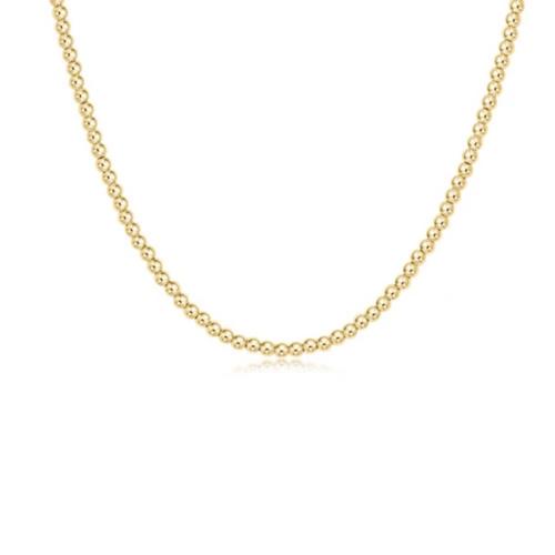 "enewton 17"" Choker Classic Gold 3mm Bead"