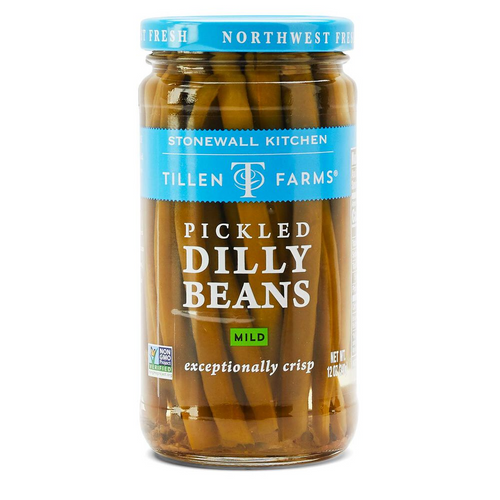 Mild Pickled Dilly Beans