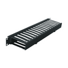 """1 RU 4""""D Plastic Cable Manager PHCM-1-4"""