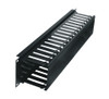 """2 RU 3""""D Plastic Cable Manager PHCM-2-3"""