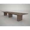 16' T5 Conference Table 5th Ave Elm Middle Atlantic