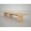 16' T5 Conference Table Sandy Maple Middle Atlantic T5SHC1RSV07ZP001