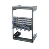 "12""D Middle Atlantic WM Series Wall Rack WM-15-12"