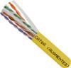 1000ft Spool CAT6A Yellow Unshielded UTP Plenum CMP 065-309/A/P/YL