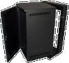 """25U 28""""D Wall Mount Server Rack Glass Door Great Lakes Case GL48WDX"""