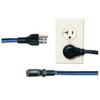 "20 Pack 18"" IEC power cord, 90 degree R"