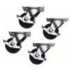 Middle Atlantic 5WL Commercial Grade Casters, Locking - Set of 4