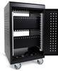 30 Tablet/Chromebooks Charging Cart w/ Programmable Keypad Lock