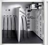 12 Tablets / Chromebooks Vertical Wall / Desk Charging Box LLTMWV12-G