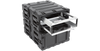"7U Removable 20"" Deep Shock Rack SKB 3RR-7U20-22B"