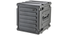 "SKB 20""D 12U Roto Shockmount Rolling Rack 3skb-R12U20W"