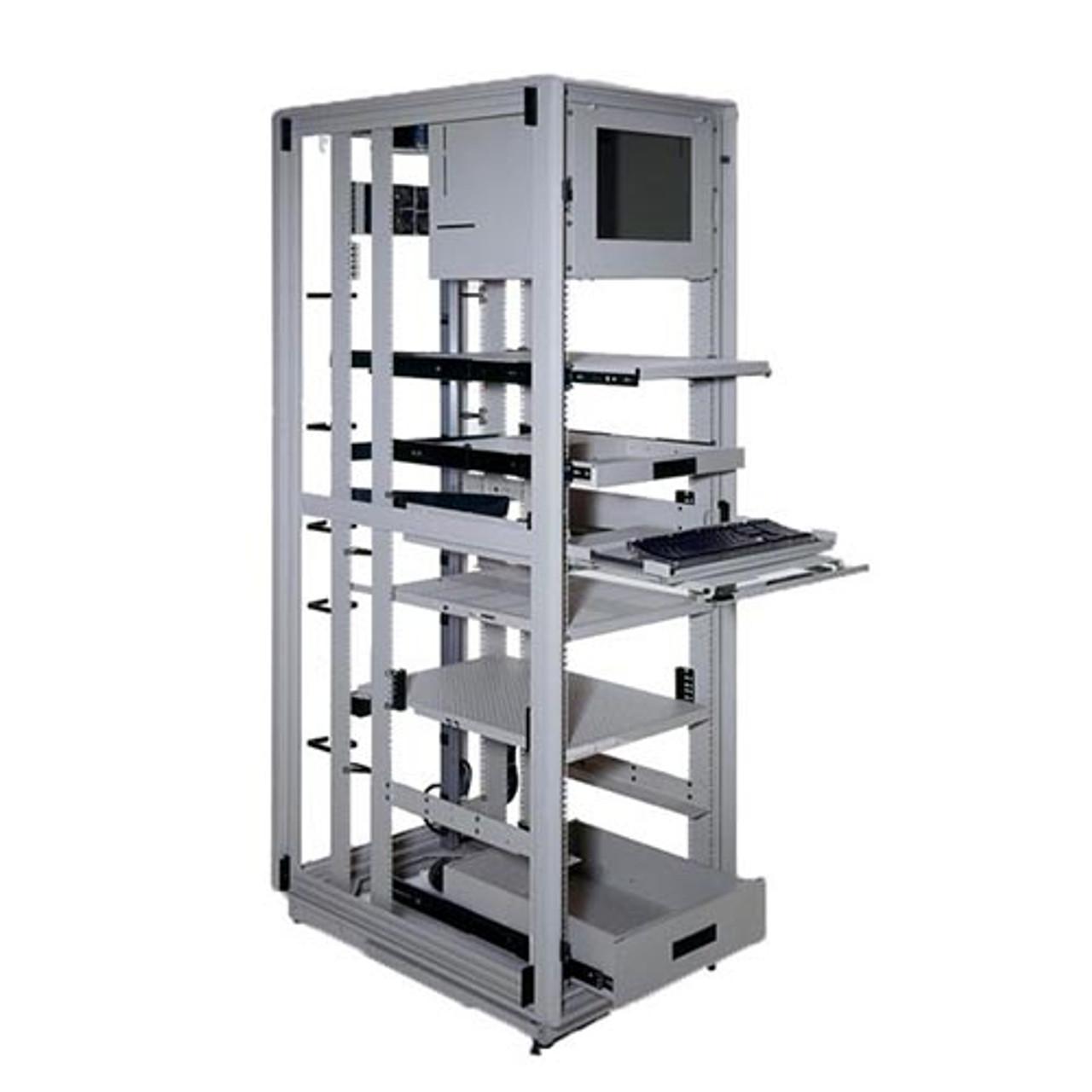 40u 30 D Heavy Duty 4 Post Server Rack