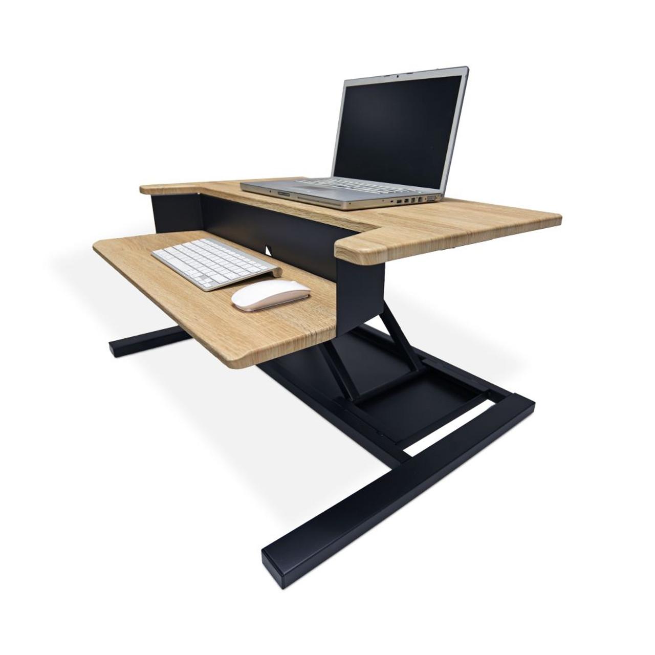 Wood Level Up 32 Pro Standing Desk Converter Serverrack Com