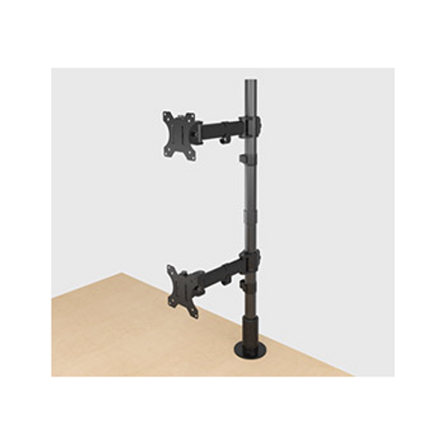 Dual Vertical Monitor Mount MM3-1X2BLK