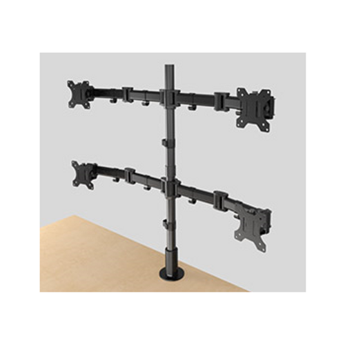 2 Level 2x2 Articulating Monito Mount MM3-2X2BLK