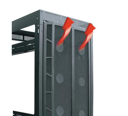 45 RU High CFM Split Rear Door Server Racks MW-CFRD-45