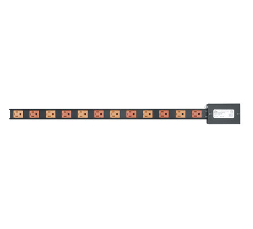 12 Outlet Power Strip 15A Hardwired PDT-2X615S