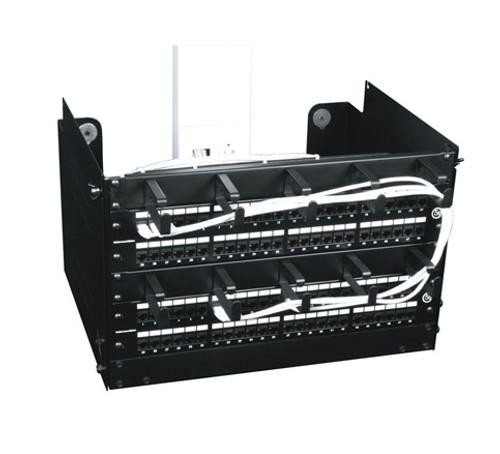 """16""""D x 12.75""""H Open Back PPM Series Rack Middle Atlantic PPM-6-16OB"""
