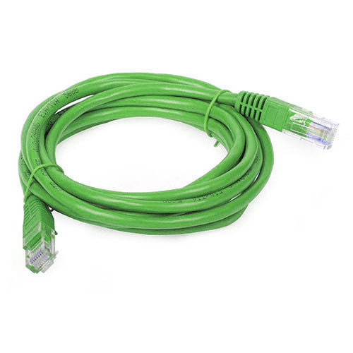 """Cat6 12"""" Green Cable"""