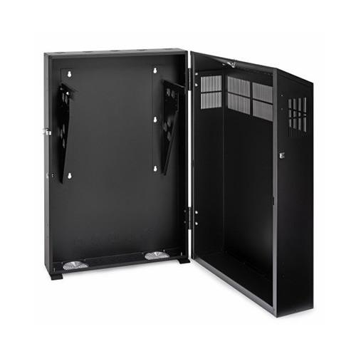 Rackmount Solutions VRS-6-30 - 6u Vertical Wallmount Cabinet - Solid Top