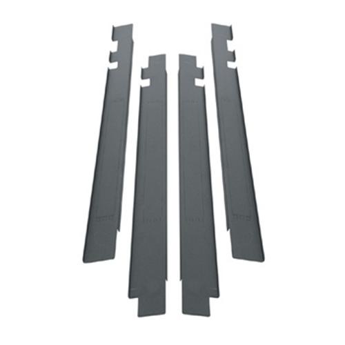 "45u SNE Racks 27""W Front Air Dam Panel Mount"