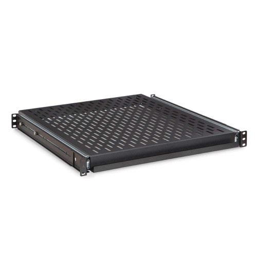 Rackmount Solutions SS1920-V - 1u 4 Post Vented Sliding Rackmount Shelf