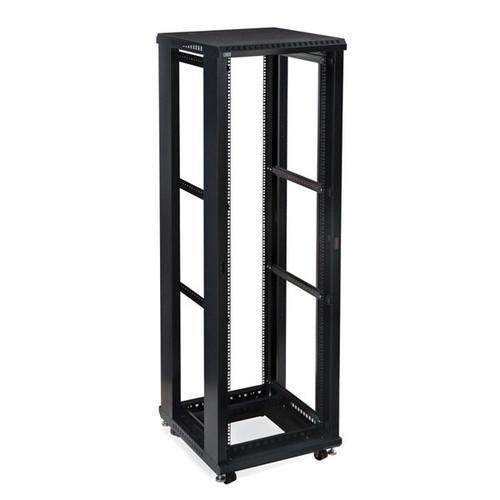 "Kendall Howard 3170-3-024-42 - 42U LINIER Open Frame Server Rack - No Doors/Side Panels - 24"" Depth"