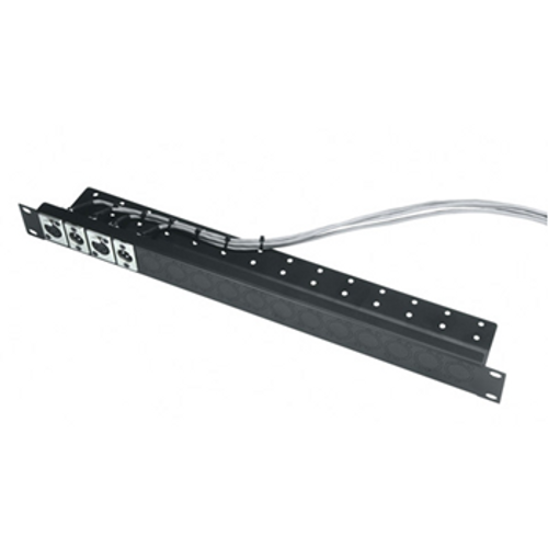 1u Universal Connector Panel with Cable Shelf UNI-1-C