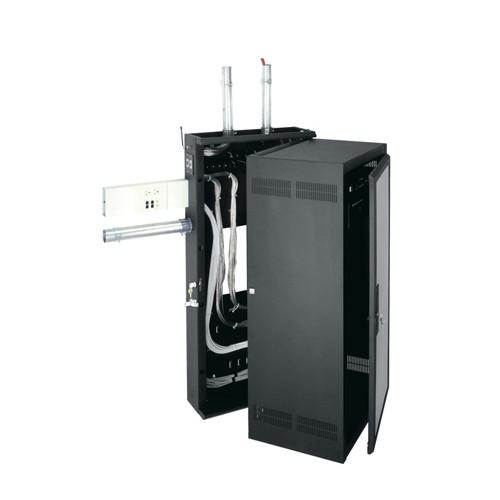Middle Atlantic DWR-24-26PD 24u Wallmount Cabinet - Plexiglass Front Door