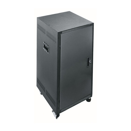 "21u 24.5""D 19 Gangable Enclosures Rack"