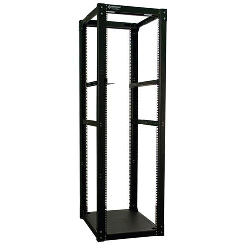 24u Cruxial 4 Post Server Rack w/ Angle Brackets