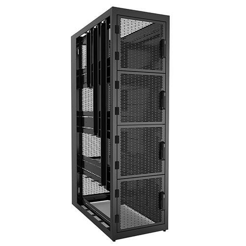 Hammond CLC4B42BK 42u 4-Bay Colocation Cabinet