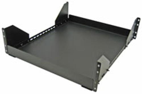 3U Stationary Shelf 17W x 20.75D Great Lakes Case 7206-BT