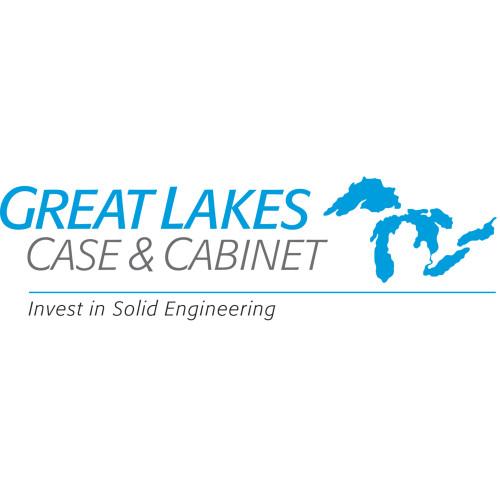 1U Stationary Shelf 17.5W x 27.25D Great Lakes Case 7206-FR-ADHD