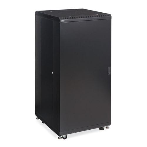 "Kendall Howard 3106-3-024-27 - 27U LINIER Server Cabinet - Solid/Vented Doors - 24"" Depth"