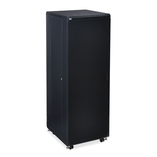 "Kendall Howard 3106-3-024-37 - 37U LINIER Server Cabinet - Solid/Vented Doors - 24"" Depth"