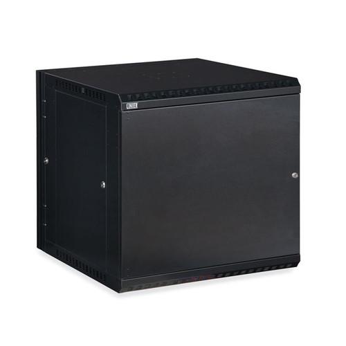Kendall Howard 3131-3-001-12 - 12U LINIER Swing-Out Wall Mount Cabinet - Solid Door