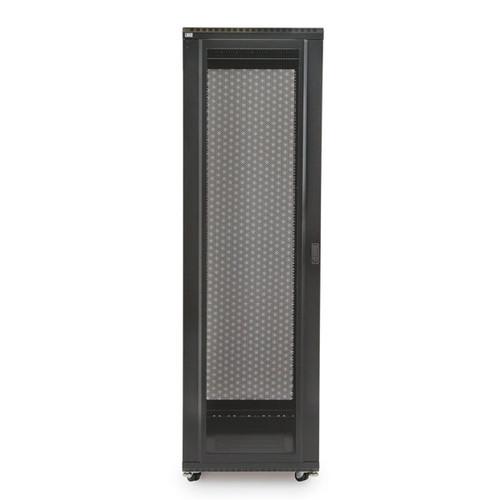 "Kendall Howard 3102-3-024-42 - 42U LINIER Server Cabinet - Convex/Glass Doors - 24"" Depth"