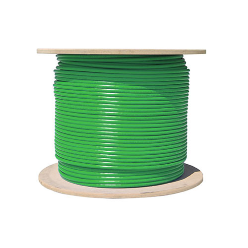 Vertical Cable Cat5e-Bulk-SO-GR - Bulk Cat5e Solid Networking Cable [GREEN]