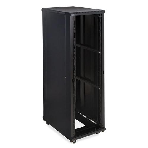 "Kendall Howard 3180-3-001-42 - 42U LINIER Open Frame Server Rack - No Doors - 36"" Depth"