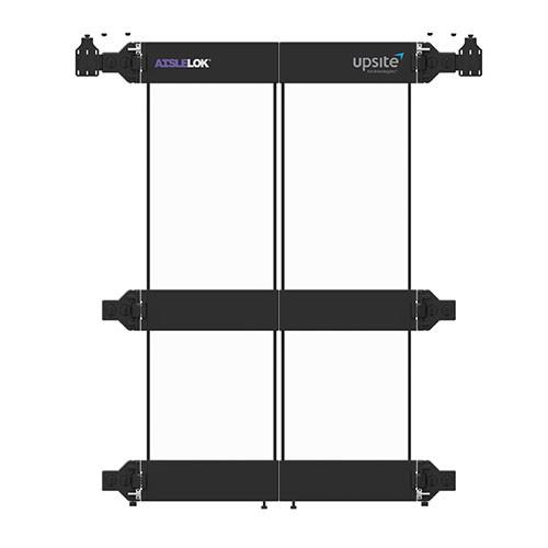 AisleLok Modular Containment Bi-Directional Doors - 1