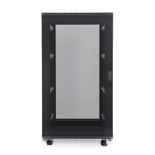 "Kendall Howard 3106-3-001-22 - 22U LINIER Server Cabinet - Solid/Vented Doors - 36"" Depth"