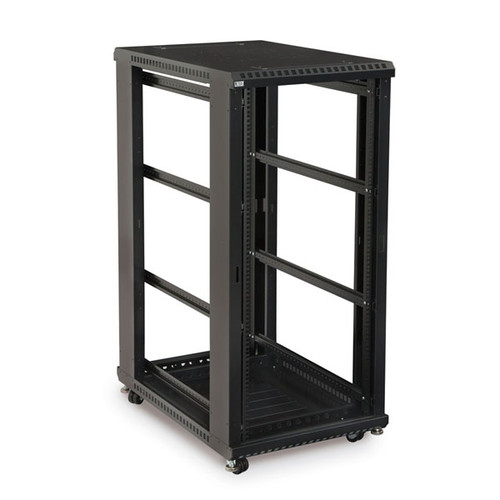 "Kendall Howard 3170-3-001-27 - 27U LINIER Open Frame Server Rack - No Doors/Side Panels - 36"" Depth"