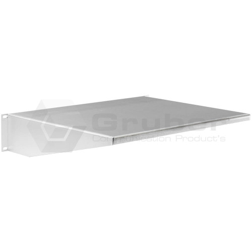 Rackmount Solutions 34-105010 - 2 Post Rackmount Shelf, Silver