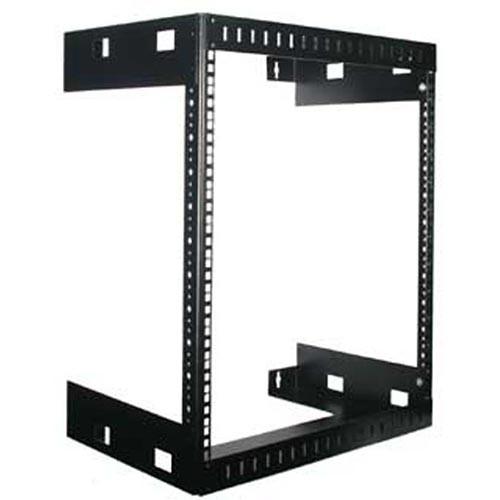 Rackmount Solutions WM18-13 - 18u Wallmount Relay Rack, 13 inches deep