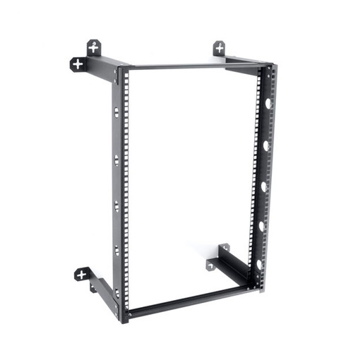 Kendall Howard 1915-3-300-16 - 16U V-Line Wall Mount Rack